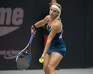 Dominika Cibulkova (SVK) during the finals of the WTA Generali Ladies Linz Open at TipsArena, Linz<br /> Picture by EXPA Pictures/Focus Images Ltd 07814482222<br /> 16/10/2016<br /> *** UK &amp; IRELAND ONLY ***<br /> <br /> EXPA-REI-161016-5010.jpg
