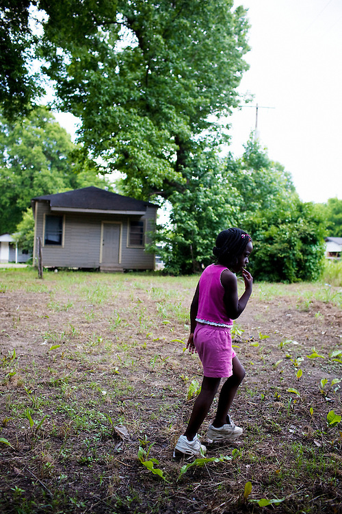 in the Baptist Town neighborhood of Greenwood, Mississippi on Saturday, May 22, 2010.
