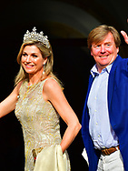 23-5-2017 - AMSTERDAM - King Willem-Alexander and Her Majesty Queen Maxima received Tuesday's Evening May 23 the Corps Diplomatique for the annual gala dinner in the Royal Palace Amsterdam.<br /> Dinner takes place to maintain and strengthen international relations. This year, dinner is a sign of international business. For that reason, representatives of international companies are also invited. Earlier themes of dinner were international law and culture.<br /> In addition to the Royal Couple, their Royal Highnesses are Princess Beatrix and Princess Margriet and Prof.mr. Pieter van Vollenhoven present at dinner.COPYRIGHT ROBIN UTRECHT<br /> <br /> 23-5-2017 - AMSTERDAM - Koning Willem-Alexander en Hare Majesteit Koningin Maxima ontvangen dinsdagavond 23 mei het Corps Diplomatique voor het jaarlijkse galadiner in het Koninklijk Paleis Amsterdam.<br /> Het diner vindt plaats om de internationale relaties te onderhouden en te versterken. Dit jaar staat het diner in het teken van het internationale bedrijfsleven. Om die reden zijn ook vertegenwoordigers van internationale bedrijven genodigd. Eerdere thema's van het diner waren internationaal recht en cultuur.<br /> Naast het Koninklijk Paar zijn Hunne Koninklijke Hoogheden Prinses Beatrix en Prinses Margriet en prof.mr. Pieter van Vollenhoven aanwezig bij het diner.COPYRIGHT ROBIN UTRECHT