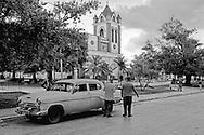 Church in Artemisa, Cuba.