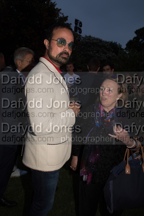 EVGENY LEBEDEV, The Serpentine Party pcelebrating the 2019 Serpentine Pavilion created by Junya Ishigami, Presented by the Serpentine Gallery and Chanel,  25 June 2019