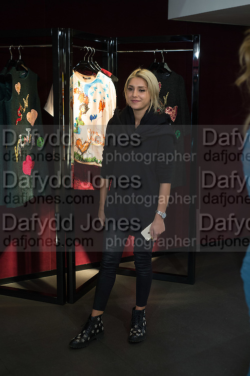 ILANA SCOLARO, Anna Scolaro hosts a charity shopping event at  Dolce and Gabbana, 175 Sloane St. London. In aid of TeamFox.org for Parkinsons. 10 February 2016
