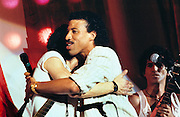 Lionel Ritchie with Dylan - Ron Wood - Keith Richards