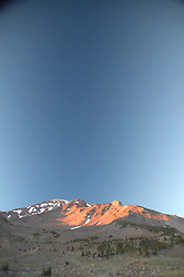 Mt. Shasta Summit from Panther Meadow, Shasta-Trinity National Forest, California, US