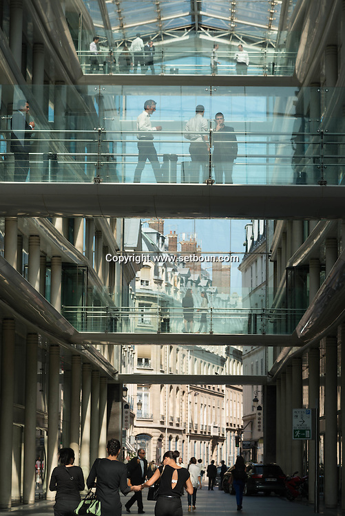 Paris. 1st district, Passage des Jacobins , architect Ricardo Bofill.