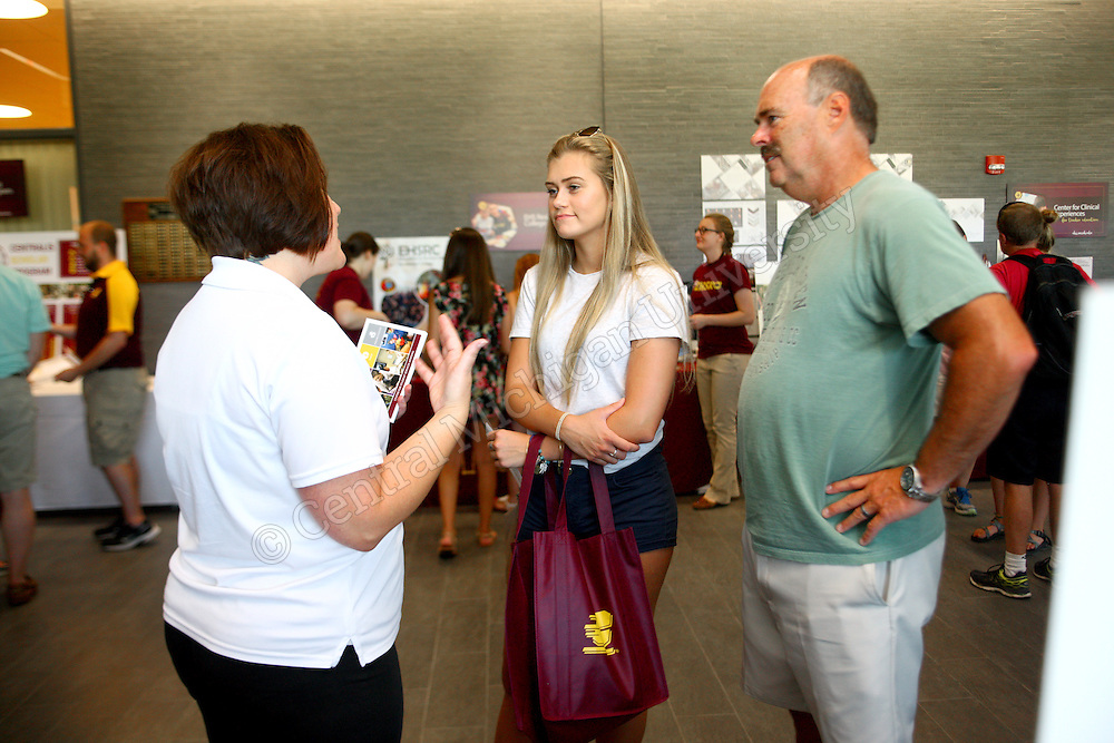 EHS hosted college days for incoming freshman and high school students to find out more information about major and minor programs in the College of Education and Human Services.