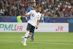 June 1, 2018 - Paris, Ile-de-France, France - Kylian Mbapp (France) during the friendly football match between France and Italy at Allianz Riviera stadium on June 01, 2018 in Nice, France..France won 3-1 over Italy. (Credit Image: © Massimiliano Ferraro/NurPhoto via ZUMA Press)