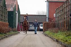 Tilleman Luc (BEL) en Vermeir Wilm (BEL) <br /> Stal T & L - Vrasene 2008<br /> Photo © Hippo Foto