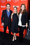 Nolan North, Sasha Pieterse and Lesley Fera attend the Pretty Little Liars screening at the Ziegfeld Theater in New York City, New York on March 18, 2014. Photo by Donna Ward/ABACAUSA.COM