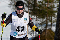 KLUG Clara Guide: HARTL Martin, GER, Long Distance Cross Country, 2015 IPC Nordic and Biathlon World Cup Finals, Surnadal, Norway