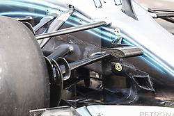 May 23, 2018 - Montecarlo, Monaco - Mercedes W09 Hybrid EQ Power+ team Mercedes GP mechanical detail of the front suspension during the Monaco Formula One Grand Prix  at Monaco on 23th of May, 2018 in Montecarlo, Monaco. (Credit Image: © Xavier Bonilla/NurPhoto via ZUMA Press)
