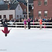 Richard Dornbush performs with Ice Dance International at Strawbery Banke, Portsmouth NH on Jan 14, 2017