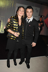 Singer K T TUNSTALL and Winner of TV's X Factor 2007 LEON JACKSON at a reception to launch the Kiss It Better Appeal in aid of the Great Ormond Street Hosoital supported by Clinique - held at Harrods, Knightsbridge, London on 30th January 2008.<br /> <br /> NON EXCLUSIVE - WORLD RIGHTS (EMBARGOED FOR PUBLICATION IN UK MAGAZINES UNTIL 1 MONTH AFTER CREATE DATE AND TIME) www.donfeatures.com  +44 (0) 7092 235465