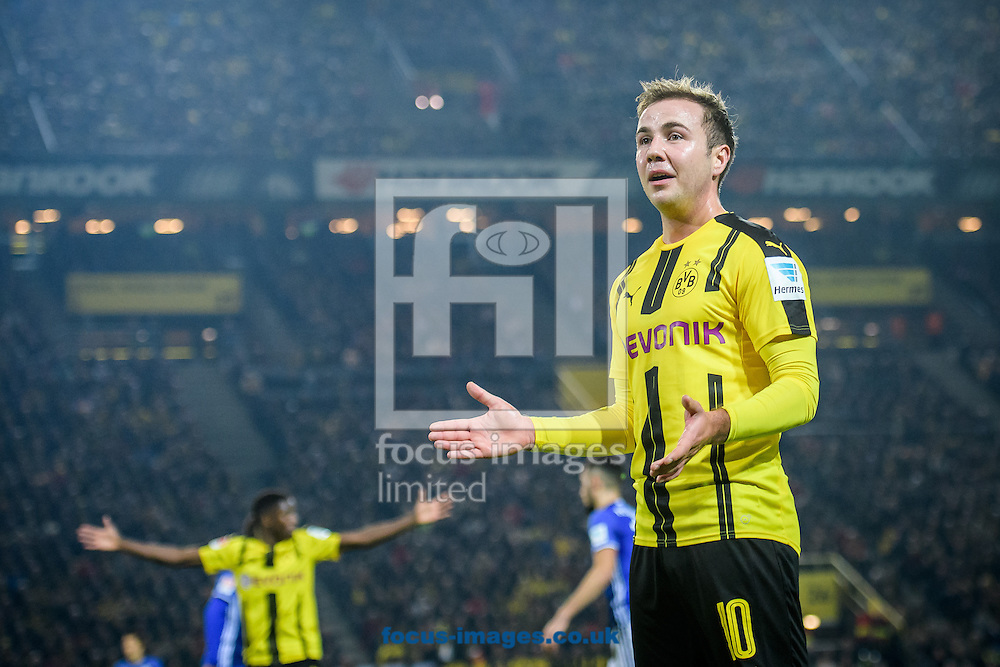 Mario Goetze of Borussia Dortmund during the Bundesliga match at Signal Iduna Park, Dortmund<br /> Picture by EXPA Pictures/Focus Images Ltd 07814482222<br /> 29/10/2016<br /> *** UK &amp; IRELAND ONLY ***<br /> EXPA-EIB-161030-0055.jpg
