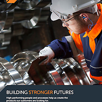 British Steel Rebrand Photography