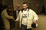 Carl Pollo. pre-Gumball party. Mayfair Club. London. 25 May 2001. © Copyright Photograph by Dafydd Jones 66 Stockwell Park Rd. London SW9 0DA Tel 020 7733 0108 www.dafjones.com