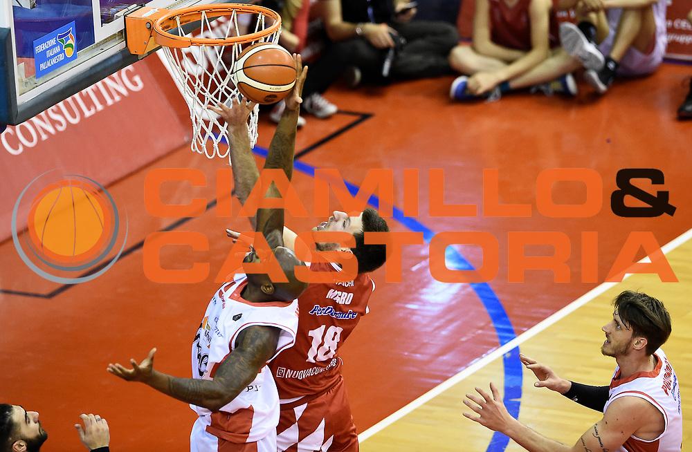 Jawad Williams<br /> Grissin Bon Pallacanestro Reggio Emilia - The Flexx Pistoia Basket<br /> Lega Basket Serie A 2016/2017<br /> Reggio Emilia, 30/04/2017<br /> Foto A.Giberti / Ciamillo - Castoria