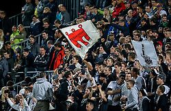 09.05.2014, Reichshofstadion, Lustenau, AUT, 2. FBL, SC Austria Lustenau vs CASHPOINT SCR Altach, 34. Runde, im Bild Altacher Fans // during Austrian Second Bundesliga Football Match, 34th round, between SC Austria Lustenau vs CASHPOINT SCR Altach the Reichshofstadion, Lustenau, Austria on 2014/05/09. EXPA Pictures © 2014, PhotoCredit: EXPA/ Peter Rinderer