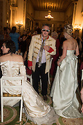 KATHERINE CARROLL; PAUL FREUD; LADY GEORGIE CAMPBELL, The 20th Russian Summer Ball, Lancaster House, Proceeds from the event will benefit The Romanov Fund for RussiaLondon. 20 June 2015