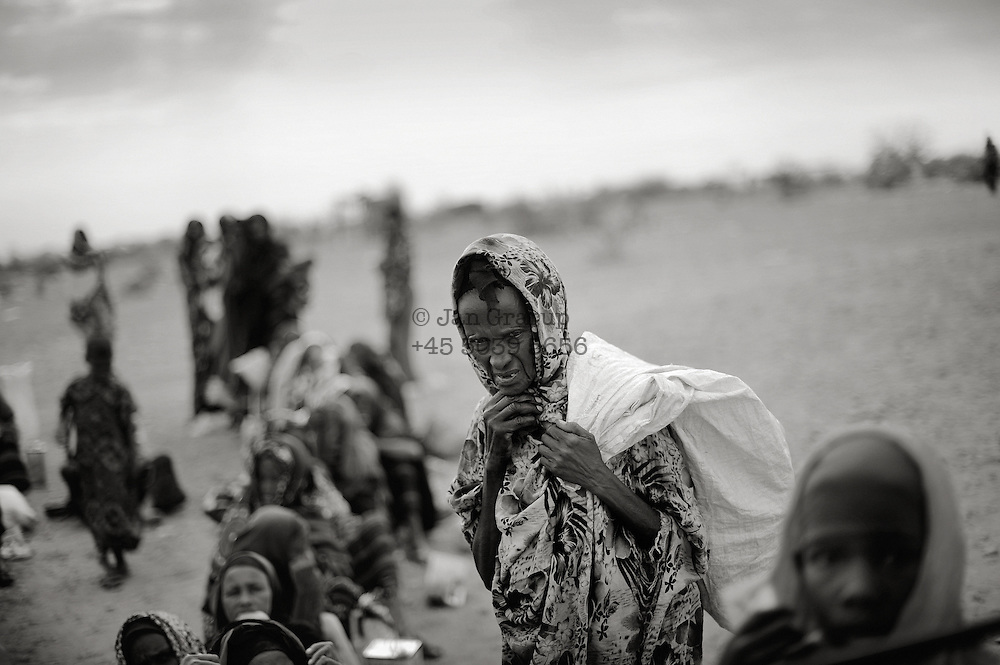 Somali refugees in the border region between Somalia and Ethiopia.