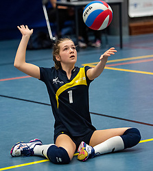 20-04-2019 NED: Dutch Championship Youth Sitting Volleyball, Veenendaal<br /> The future sitting volleyball toppers in action at the National Youth Volleyball Championship in Veenendaal / Limes