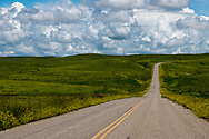 Crow Indian Reservation, east of Pryor, Montana, BIA 91 road