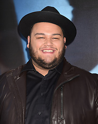 The contestants of 'The Voice' attend the 'Sing' world premiere held at the Microsoft Theatre in Los Angeles. 03 Dec 2016 Pictured: Christian Cuevas. Photo credit: American Foto Features / MEGA TheMegaAgency.com +1 888 505 6342