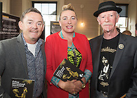 Paul and Mary Grealish, Kings Head with Brendan Macken  at the launch of the Galway International Arts Festival programme. the Festival will run from the 11th to the 24th of July 2016. Photo:Andrew Downes, xposure.