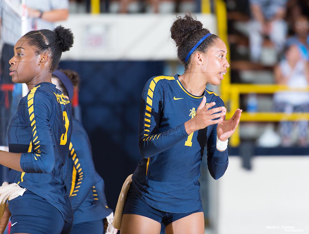 2016 A&T Volleyball vs Elon University (Home Open Match)