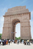 People at the India Gate, Rajpath, New Delhi, Delhi