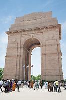 People at the India Gate, Rajpath, New Delhi, Delhi