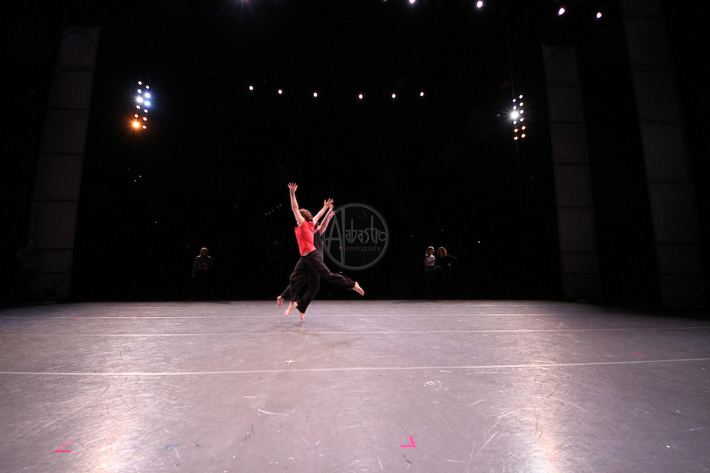 PNB Discover Dance performance rehearsal March 2012. Pinehurst.