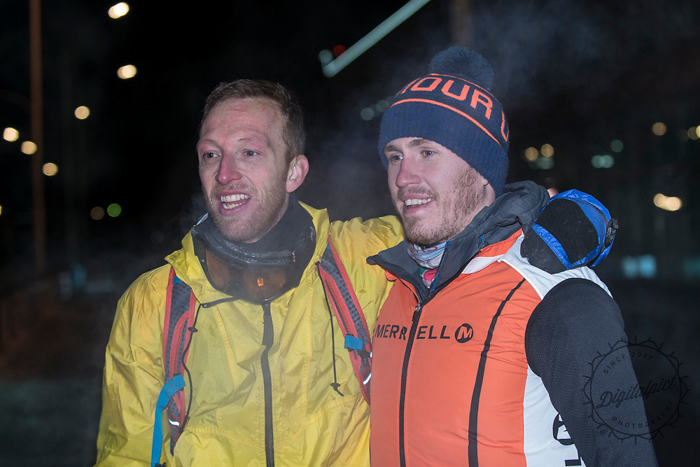 Dr Andrew Murray solo 104km run in -40 Outer Mongolia