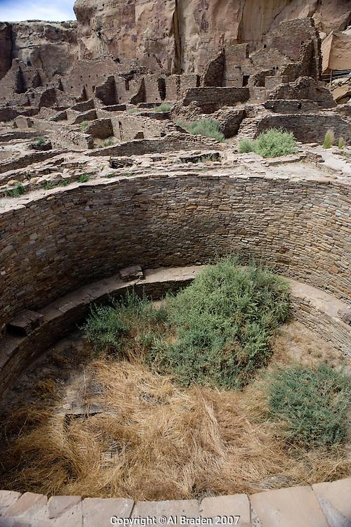 Kiva at Pueblo Bonito, Chaco Canyon NHS, New Mexico