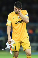 Delusione Gianluigi Buffon Dejection <br /> Berlino 06-06-2015 OlympiaStadion  <br /> Juventus Barcelona - Juventus Barcellona <br /> Finale Final Champions League 2014/2015 <br /> Foto Matteo Gribaudi/Image Sport/Insidefoto
