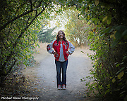 2013 graduate Kelsey Watson High School Senior Portraits by Michael Kleven. Taken near sunset at Seattle's lovely Discovery Park on October 11th 2012.