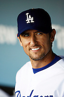 May 12, 2007: First Baseman #5 Nomar Garciaparra as the Los Angeles Dodgers defeated the Cincinnati Reds 7-3 at Dodger Stadium in Los Angeles, CA.
