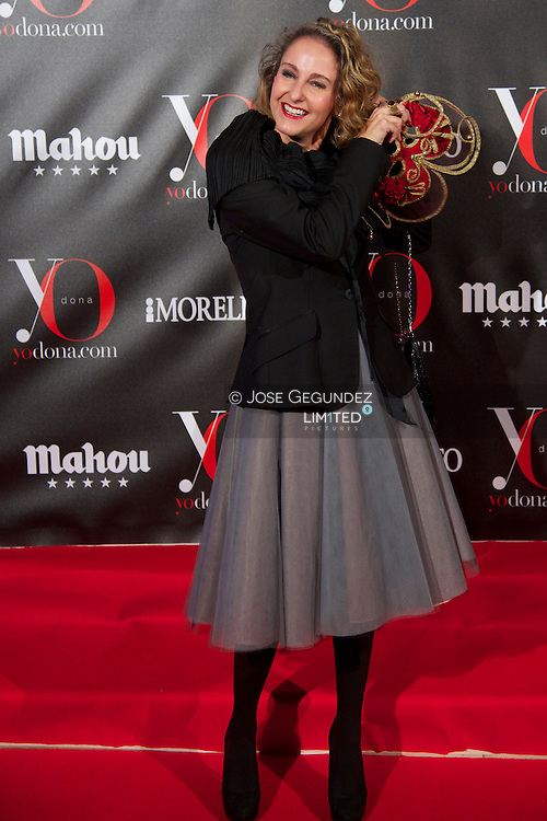 Carla Royo Villanova attends 'Yo Dona' Magazine's Mask Party at Casino on 18 February, 2013 in Madrid