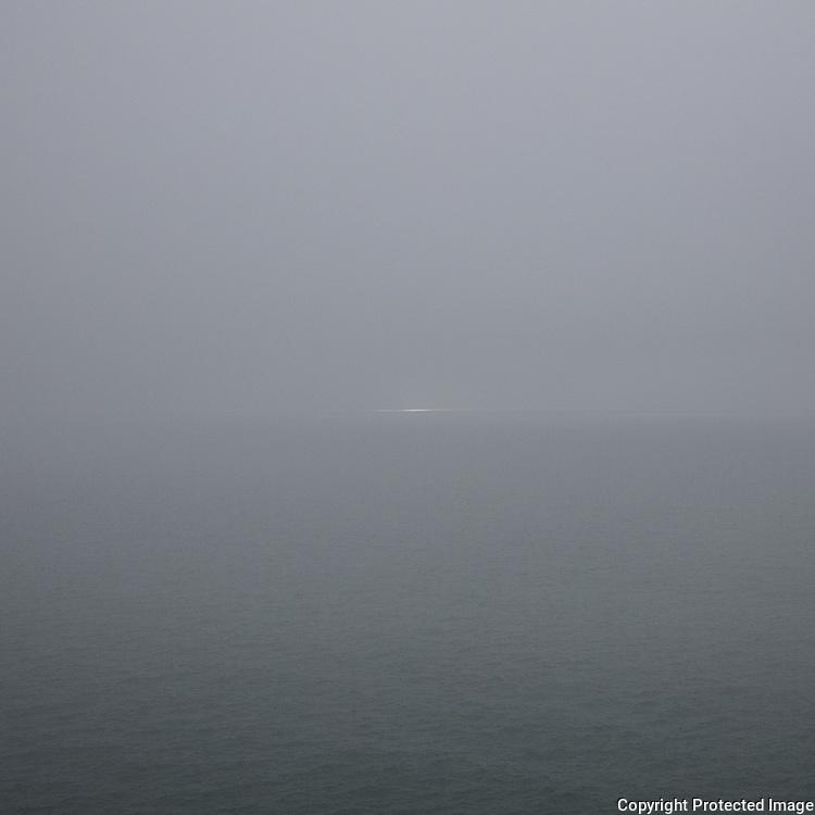 Seascape (glimmer), St Bride's Bay, Pembrokeshire.