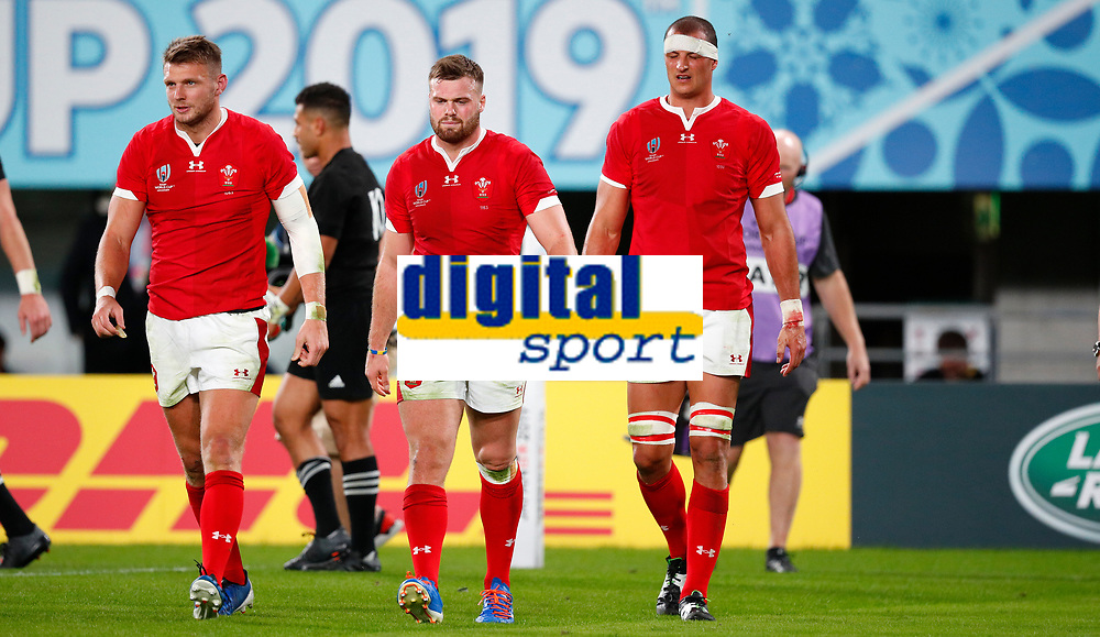 Rugby Union - 2019 Rugby World Cup - Bronze Final (Third Place Play-Off): Wales vs. France<br /> <br /> Welsh player reacts after losing the match at Tokyo Stadium, Tokyo.<br /> <br /> COLORSPORT/LYNNE CAMERON