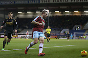 Burnley midfielder Scott Arfield  during the Sky Bet Championship match between Burnley and Nottingham Forest at Turf Moor, Burnley, England on 23 February 2016. Photo by Simon Davies.