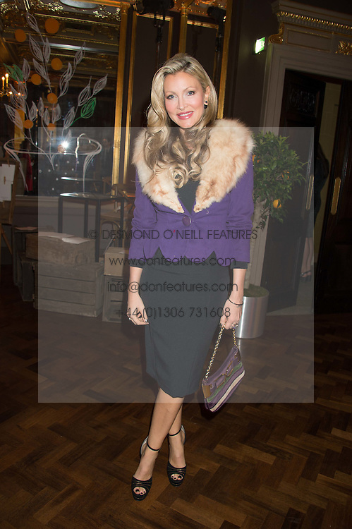 CAPRICE BOURRET at the Cointreau Creative Crew Launch at the Cafe Royal, Regent's Street, London on 27th October 2015.