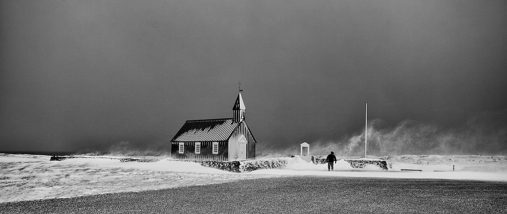 The church at Budir, Snaefellsnes, Iceland - Kirkjan að Búðum