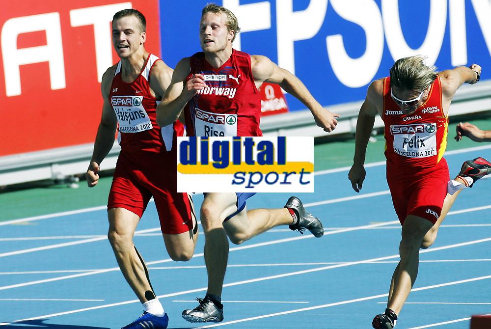 Friidrett, 28. juli  2010 ,<br /> EM Barcelona<br /> <br /> European Athletics Championships<br /> Barcelona<br /> <br /> Lars Vikan Rise , Norge i mangekamp , tikamp<br /> <br /> Foto: Anders Hoven , Digitalsport