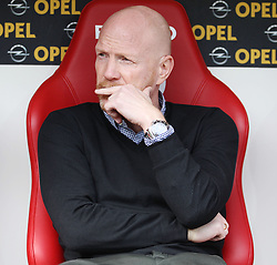 26.09.2015, Coface Arena, Mainz, GER, 1. FBL, 1. FSV Mainz 05 vs FC Bayern Muenchen, 7. Runde, im Bild Sportdirektor Matthias Sammer (FC Bayern Muenchen) // during the German Bundesliga 7th round match between 1. FSV Mainz 05 and FC Bayern Munich at the Coface Arena in Mainz, Germany on 2015/09/26. EXPA Pictures © 2015, PhotoCredit: EXPA/ Eibner-Pressefoto/ Schüler<br /> <br /> *****ATTENTION - OUT of GER*****