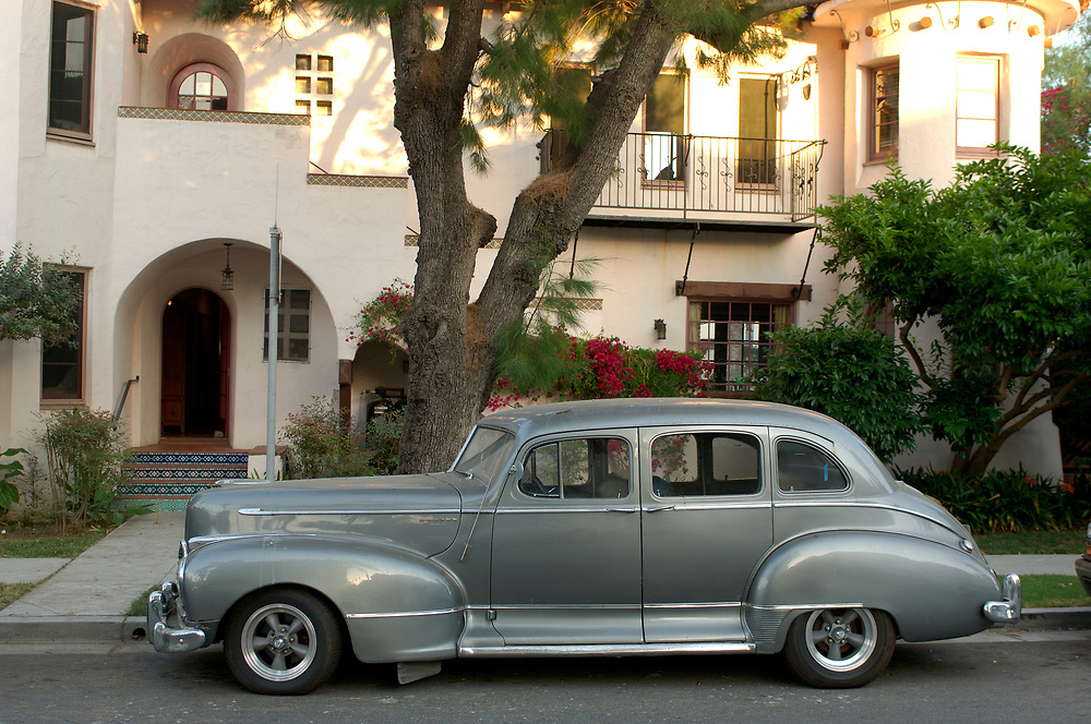 Oldtimer car, Santa Barbara, California, United States of America