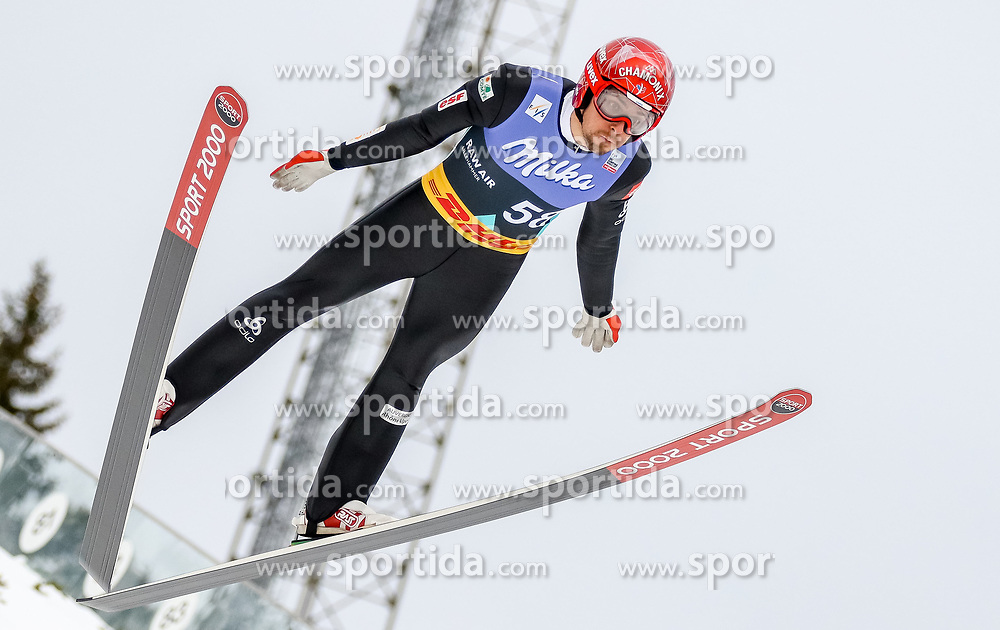 13.03.2017, Lysgards Schanze, Lillehammer, NOR, FIS Weltcup Ski Sprung, Raw Air, Lillehammer, im Bild Sevoie Vincent Descombes (FRA) // Sevoie Vincent Descombes of France // during the 2nd Stage of the Raw Air Series of FIS Ski Jumping World Cup at the Lysgards Schanze in Lillehammer, Norway on 2017/03/13. EXPA Pictures © 2017, PhotoCredit: EXPA/ Tadeusz Mieczynski