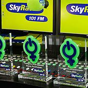 NLD/Naarden/20120307 - Uitriking Sky Radio Powervouwen Awards 2012, de awards