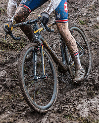 Men Junior race, 2020 UCI Cyclo-cross Worlds Dübendorf, Switzerland, 2 February 2020. Photo by Pim Nijland / Peloton Photos | All photos usage must carry mandatory copyright credit (Peloton Photos | Pim Nijland)
