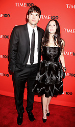 May 04, 2010 - New York, New York, U.S. - Actor ASHTON KUTCHER and actress DEMI MOORE attend the 2010 Time 100 Gala held at the Time Warner Center. (Credit Image: © Nancy Kaszerman/ZUMApress.com)